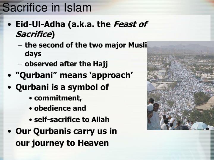 Sacrifice in Islam
