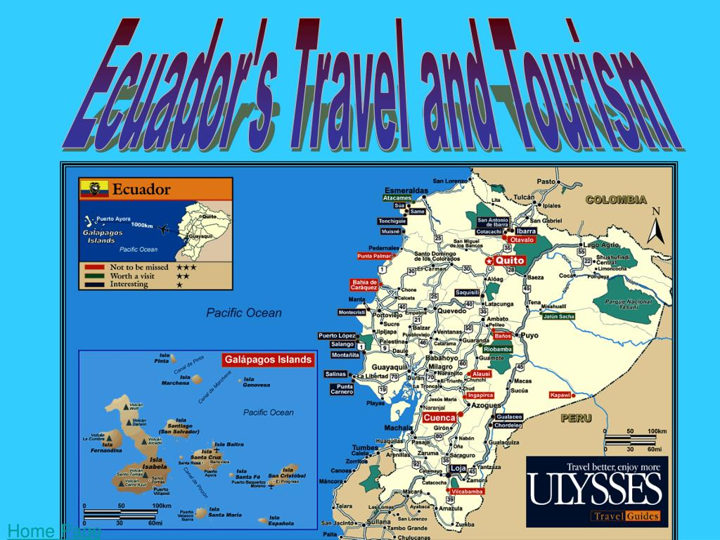 Ecuador's Travel and Tourism