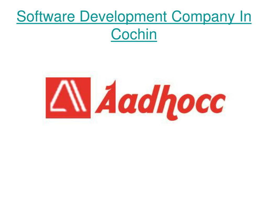 software development company in cochin l.