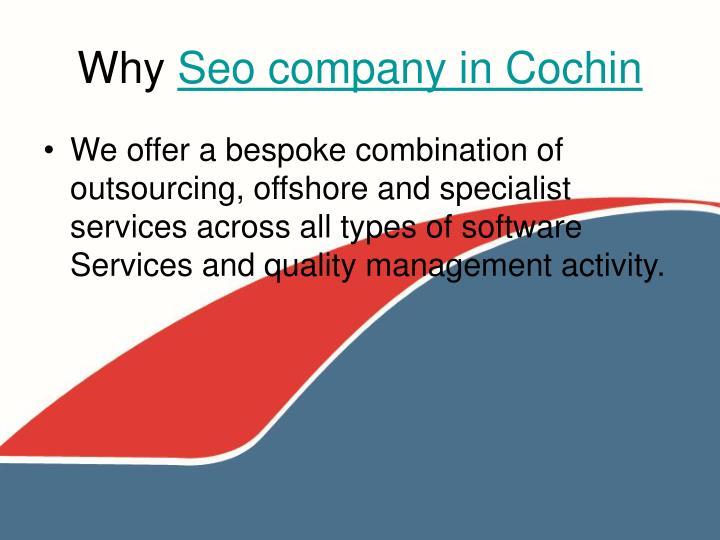 Why seo company in cochin