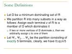 some definitions1