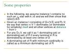 some properties
