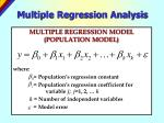 multiple regression analysis4