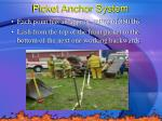 picket anchor system