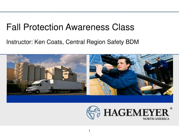 fall protection awareness class n.