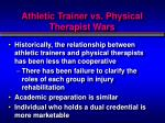 athletic trainer vs physical therapist wars1