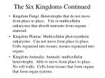 the six kingdoms continued