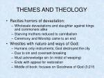 themes and theology