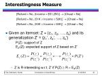 interestingness measure