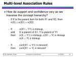 multi level association rules2