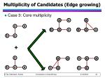 multiplicity of candidates edge growing2