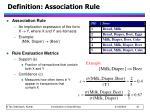 definition association rule