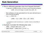 rule generation1