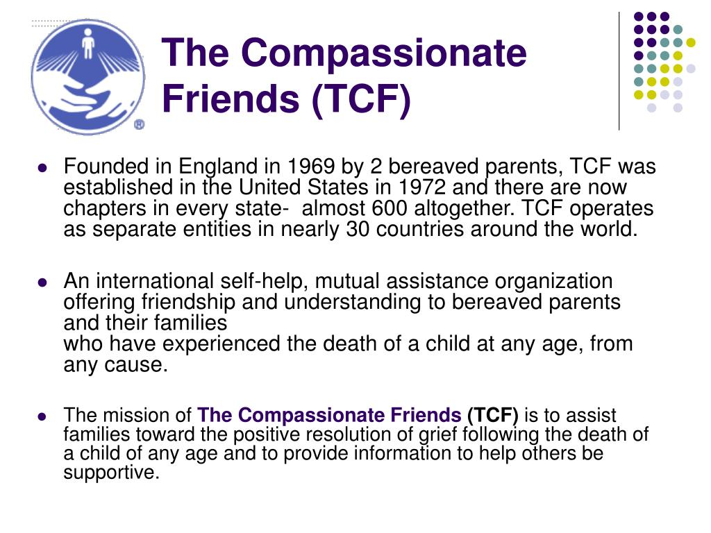 The Compassionate Friends (TCF)