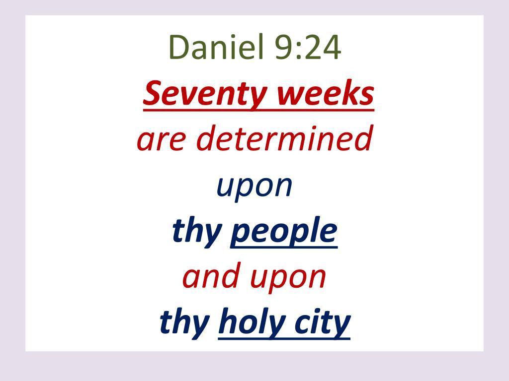 Daniel 9:24