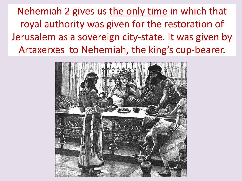 Nehemiah 2 gives us