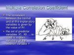 multiple correlation coefficient
