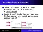boundary layer procedure2
