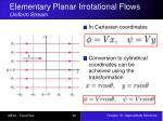 elementary planar irrotational flows uniform stream