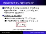 irrotational flow approximation1