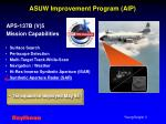 asuw improvement program aip