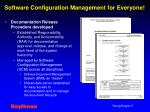 software configuration management for everyone