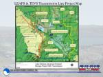 leaps tevs transmission line project map