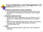 fraud detection and management 2