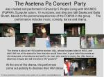 the asetena pa concert party