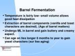 barrel fermentation