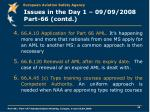 issues in the day 1 09 09 2008 part 66 contd
