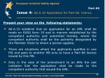 part 66 issue 4 66 a 10 application for part 66 licence