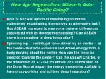 new age regionalism where is asia pacific going1