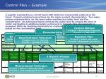 control plan example