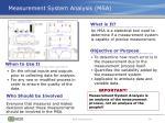 measurement system analysis msa
