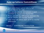 appropriations committees2