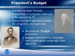 president s budget