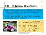 5 3 the normal distribution5
