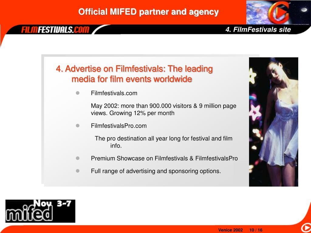 4. FilmFestivals site