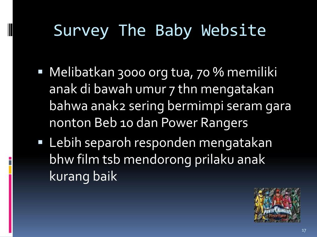 Survey The Baby Website