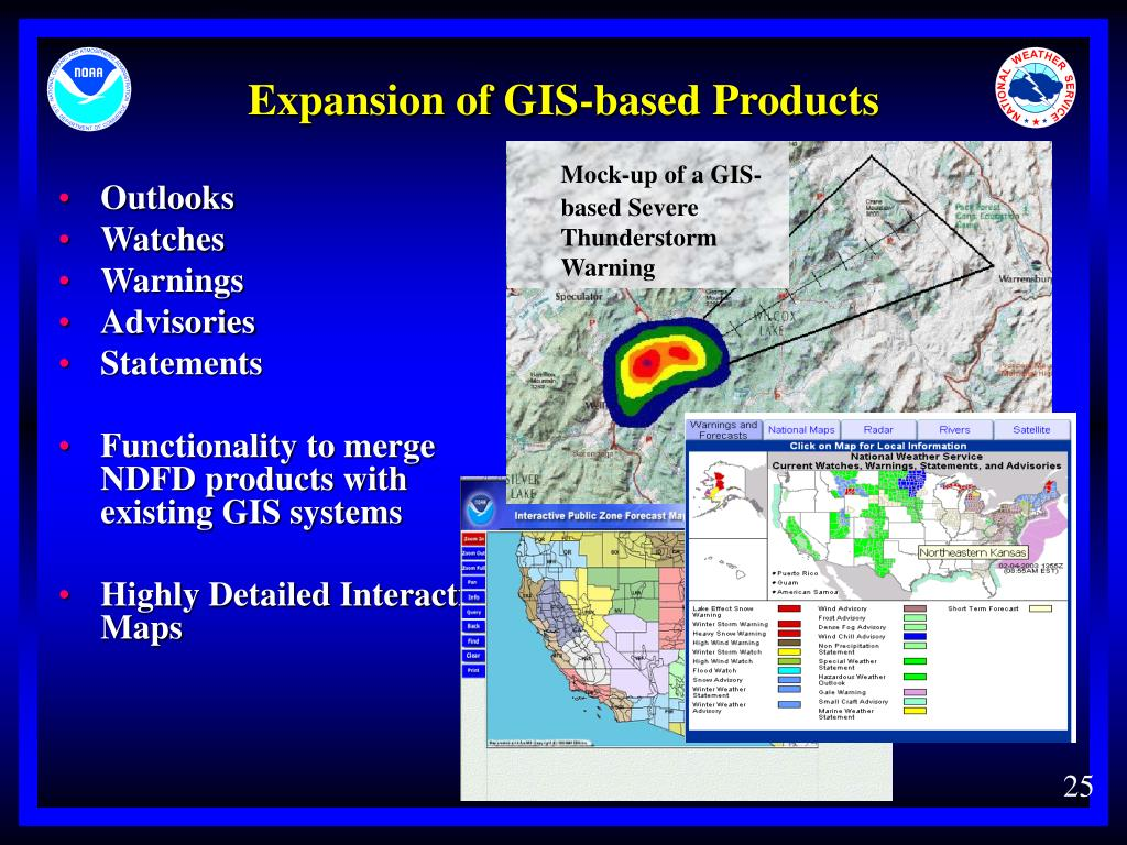 Expansion of GIS-based Products