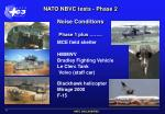 nato nbvc tests phase 2 noise conditions phase 1 plus
