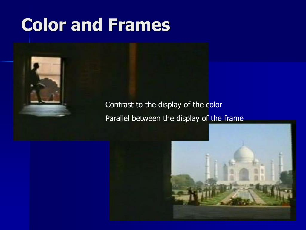 Color and Frames