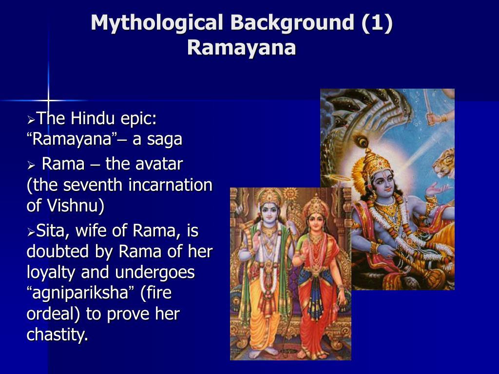 Mythological Background (1)