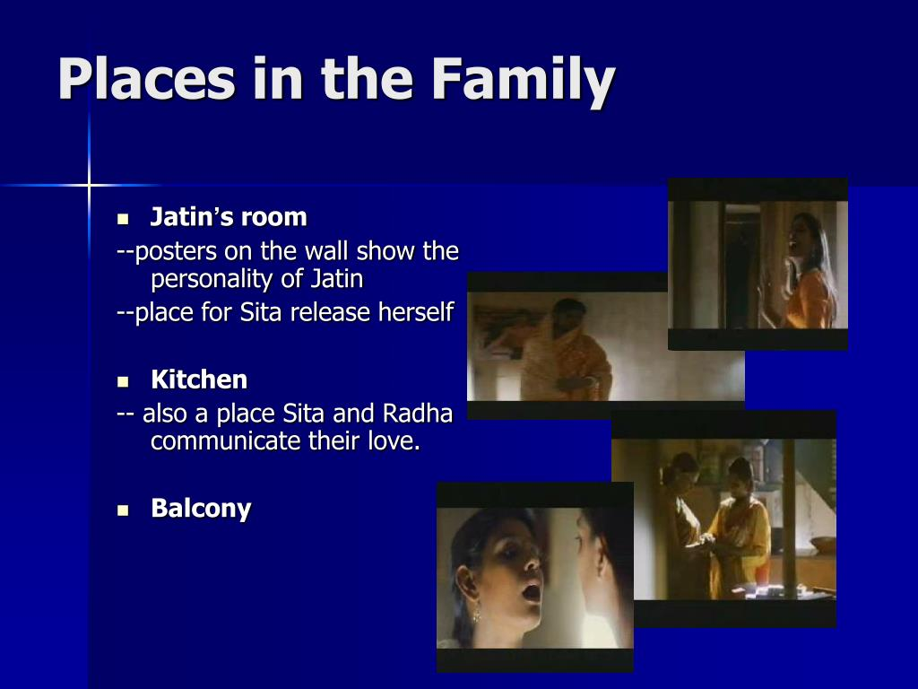 Places in the Family