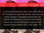 sexism in the indian act1