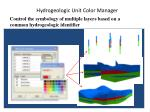 hydrogeologic unit color manager