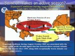 so what makes an active season