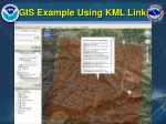 gis example using kml link