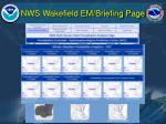 nws wakefield em briefing page13